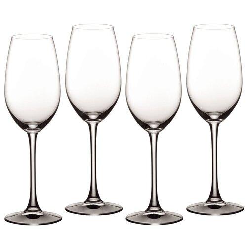 Набор из 4 бокалов Vivino для шампанского 260 мл, материал бессвинцовый хрусталь, Nachtmann, 103744 набор фужеров для шампанского vivino хрустальное стекло 4 шт 95864 nachtmann