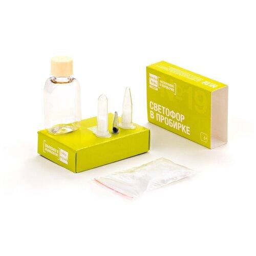 Игра Простая наука Эксперимент в коробочке Светофор в пробирке 0319