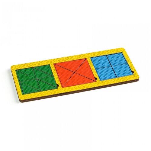 Вкладыши Paremo 3 квадрата, сложные (PE720-28)