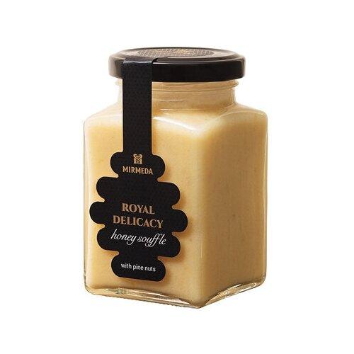 Фото - Мёд-суфле с кедровыми орешками Мусихин. Мир мёда 300 г tomtom брускетта из вяленых томатов с кедровыми орешками 140 г