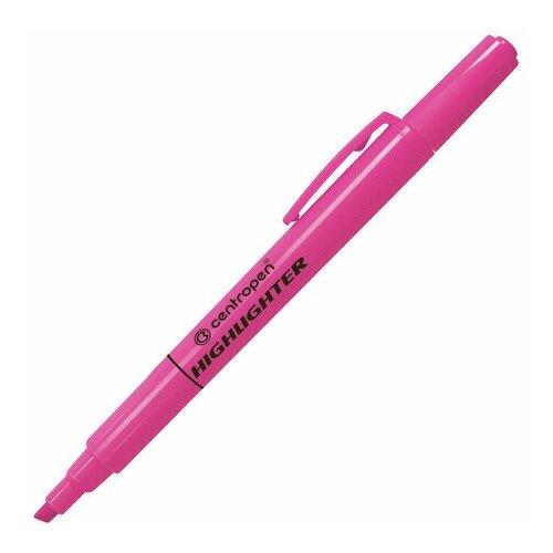 Купить Маркер-текстовыделитель Centropen 8722 (1-4мм, розовый) 4шт., 10 уп. (4 8722 9353), Маркеры