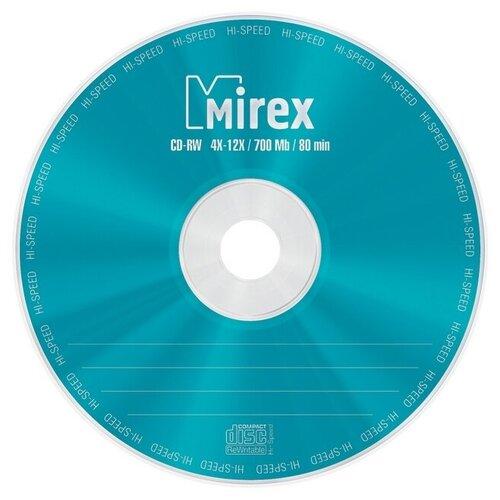 Фото - Носители информации CD-RW, 4x-12x, Mirex, Cake/10, UL121002A8L оптический диск cd rw mirex 700mb 4 12x cake box 10шт ul121002a8l