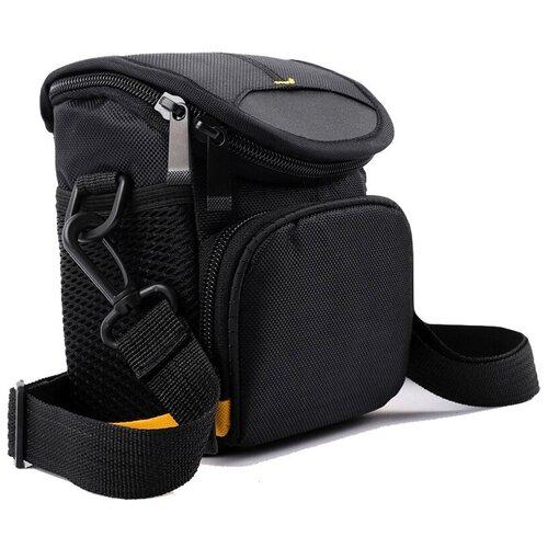 Фото - Чехол-сумка MyPads TC-1228 для фотоаппарата Nikon Coolpix L610/ L620/ L820/ L830 из качественной износостойкой влагозащитной ткани черный чехол бокс mypads tm 533 для фотоаппарата nikon coolpix s6300 s6400 s6600 из высококачественного материала зеленый