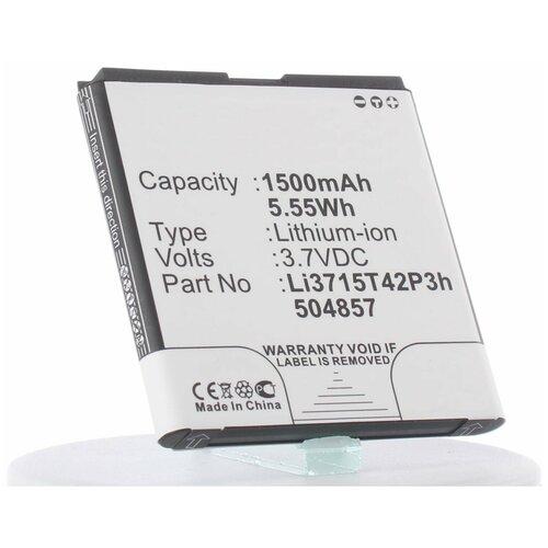 Аккумулятор iBatt iB-B1-M970 1500mAh для Amazing,T-Mobile,ZTE,Билайн Li3715T42P3h504857 аккумулятор для телефонов zte v811 билайн smart 2