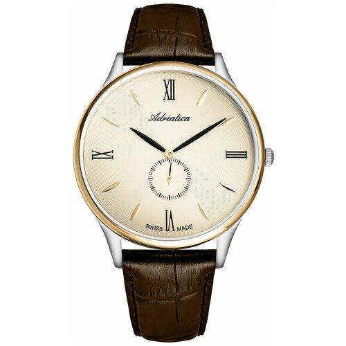 Фото - Швейцарские часы наручные мужские Adriatica A1230.2261QXL мужские часы adriatica a1246 5217q