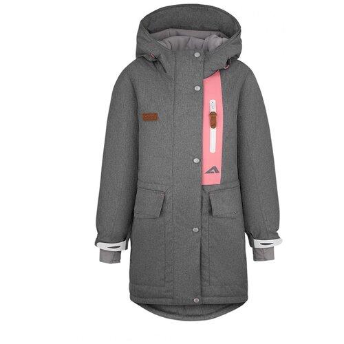 Купить Куртка Oldos размер 152, серый, Куртки и пуховики