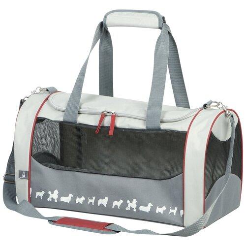 Переноска-сумка TIMOR 52х30х30см серая