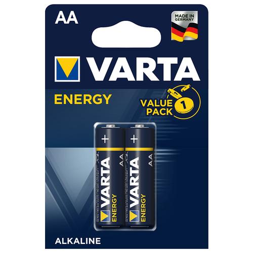 Фото - Батарейка VARTA ENERGY AA/LR06 бл 2 батарейка varta energy d lr20 бл 2