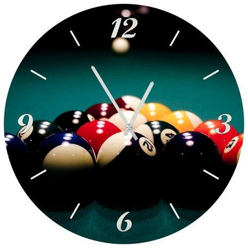 SvS Настенные часы SvS 3501825 Бильярд