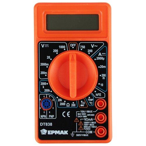 Мультиметр ермак 660-005 цифровой DT-838