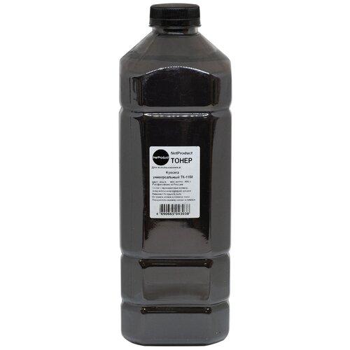 Тонер NetProduct Универсальный для Kyocera TK-1150, Bk, 900 г