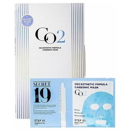 Купить Карбокситерапия Маска+активатор SECRET 19 CO2 Esthetic Formula Carbonic Mask, 1 шт., Esthetic House