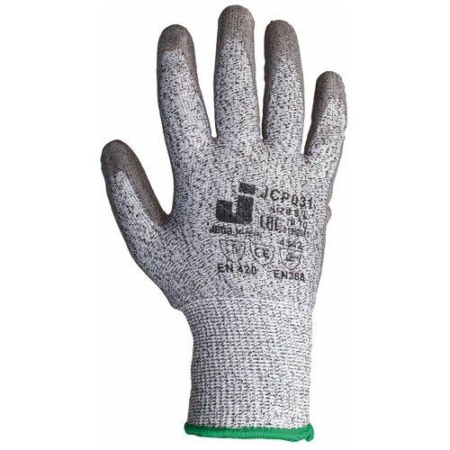 Перчатки Jeta Safety промышленные защитные серые от порезов (3 класс) JCP031, размер 10/XL