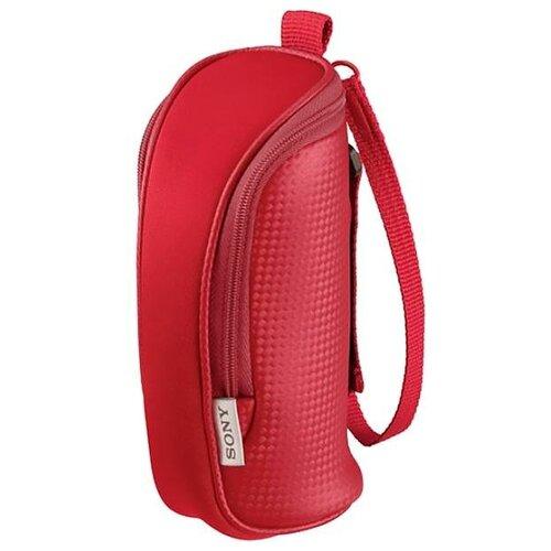 Чехол для видеокамеры Sony LCS-BBE Red защита от воды красный. Внутренние размеры 16x6x6 см. (LCSBBER.6AE)