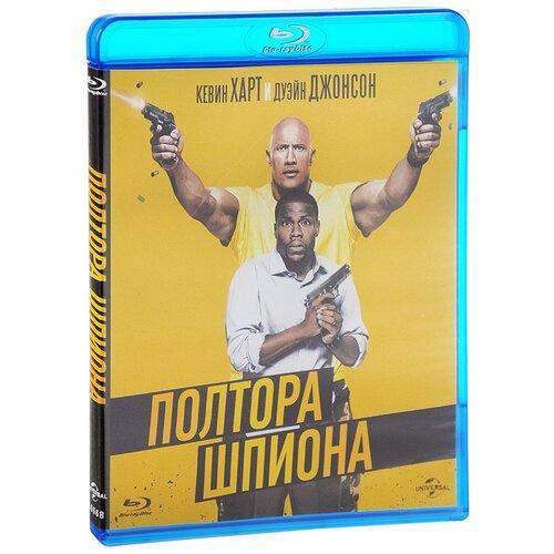 Полтора шпиона (Blu-ray)