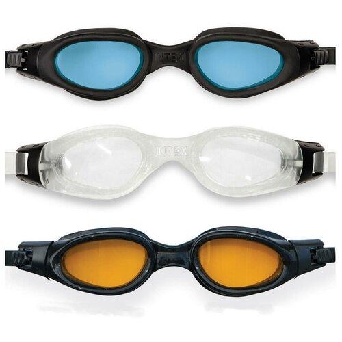 Фото - Очки для плавания Intex Pro Master Goggles, от 14 лет набор для плавания intex aqua pro серый