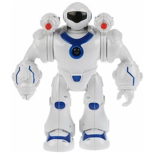 Купить Функциональный робот Технодрайв «Мегабот» белый/синий, Роботы и трансформеры