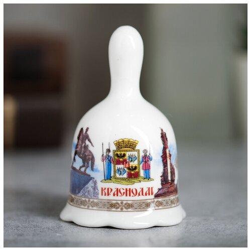 Колокольчик «Краснодар», 5,5 х 9,5 см 2328430