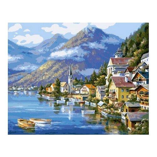 Купить Картина по номерам на холсте Paintboy Австрия , 40х50 см, GX-6936, Картины по номерам и контурам