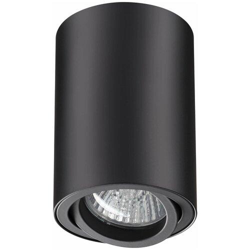 Накладной точечный светильник Novotech 370418 NT19 193 черный Накладной светильник IP20 GU10 50W 220V PIPE 370418