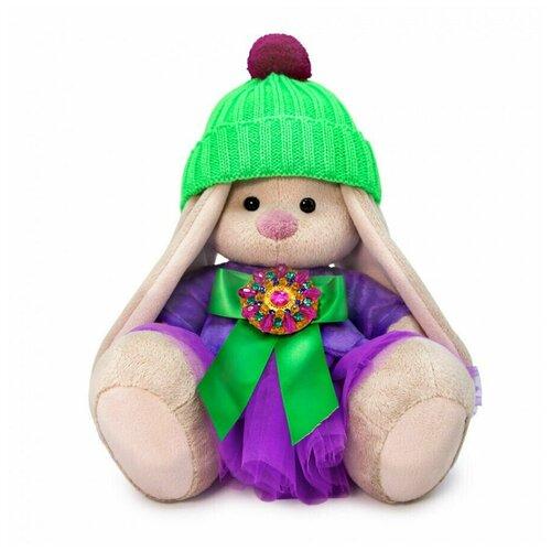 Мягкая игрушка BUDI BASA Зайка Ми Пурпурный александрит (малый) 18 см