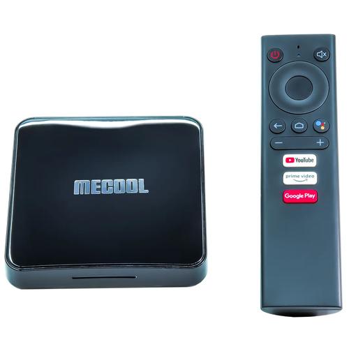 Андроид ТВ приставка MECOOL KM3 ATV 4/64 GB S905x2