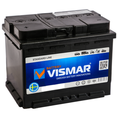 Аккумулятор автомобильный VISMAR ST 6СТ-60 N (L)-(1) 520А 242*175*190