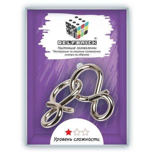 Головоломки металлические DELFBRICK DLM-04 Головоломка металлическая 1 шт