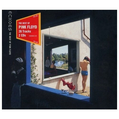 Pink Floyd Records Pink Floyd. Echoes (The Best Of Pink Floyd) (2 CD)