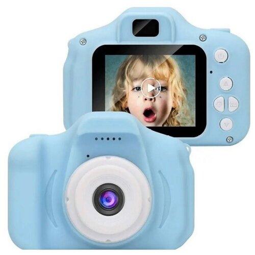 Фото - Детский фотоаппарат ZUP Kids Camera, голубой детский растущий стул конёк горбунёк