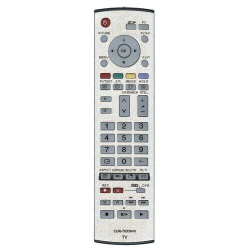 Фото - Пульт ДУ Huayu для Panasonic EUR7635040 пульт ду panasonic eur 7722x20 universal dvd vhs system