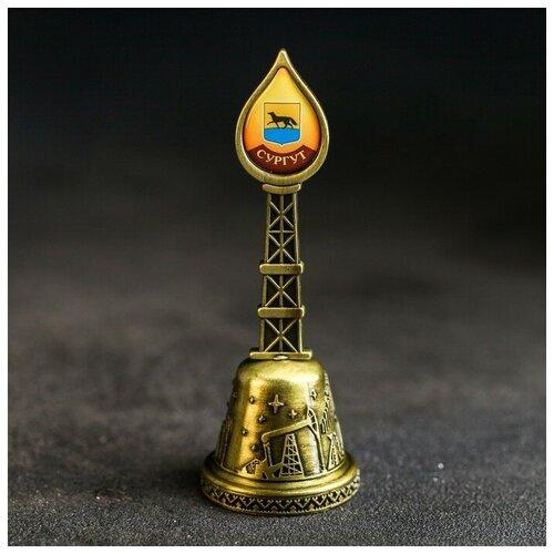 Колокольчик «Сургут. Памятник основателям» (Северная форма), 11,8 х 4,2 см 4174876
