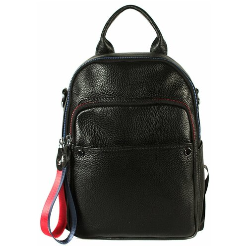 Рюкзак/Рюкзак женский/Рюкзак женский натуральная кожа/MEYNINGER/КС-Т1019/черный/модель рюкзак/городской
