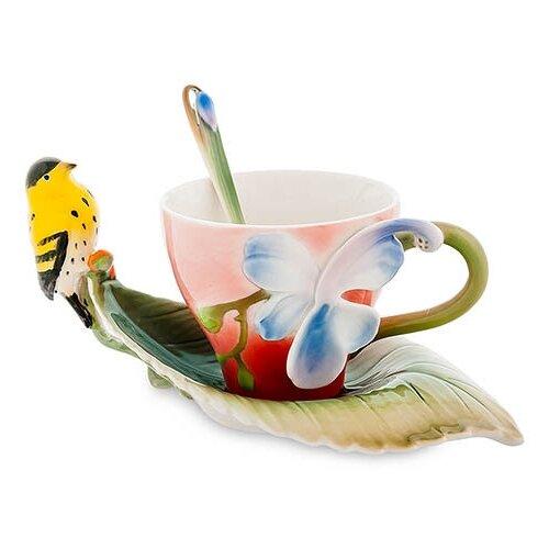 Чайная пара Иволга и Орхидея FM-81/ 2 113-106750