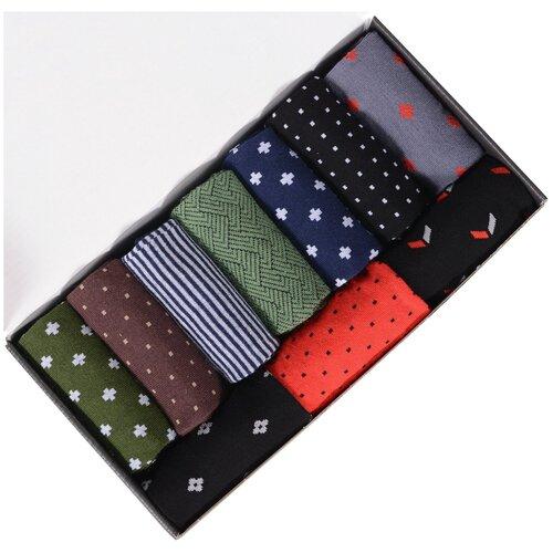 Набор из 10 пар мужских носков (нева-сокс) №НС11 микс, размер 31