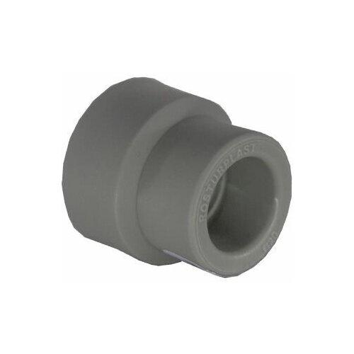 муфта pprc valfex переходная 32х25 Муфта ПП переходная вн/вн 32х25 PN25, серый РосТурПласт (Муфта переходная 32х25 мм, внутр/внутр) (15913)