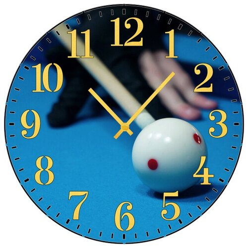 SvS Настенные часы SvS 3001627 Бильярд