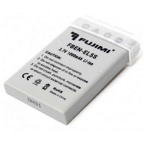 Фото - Аккумулятор Fujimi FBEN-EL5S для Nikon Coolpix 3700, 4200, 5200, 5900, 7900, P3, P4, P5000, P5100, P6000, P80, P90, S10 аккумулятор fujimi fben el23 1182
