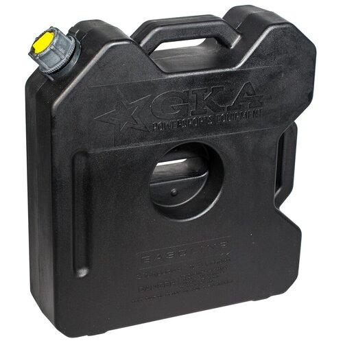 Канистра экспедиционная плоская GKA 12 литров чёрная