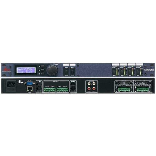 Контроллер/аудиопроцессор DBX ZonePRO 640m
