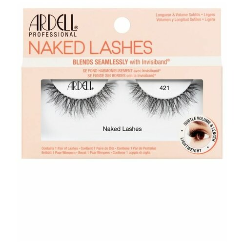 Ресницы накладные Ardell Naked Lashes №421