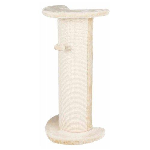 Когтеточка угловая Lorca, 37 х 27 х 75 см, с игрушкой, бежевая, Trixie (товары для животных, 4350)