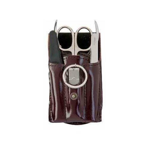 Фото - Мужской маникюрный набор Zinger MS Z-12 S, 5 предметов маникюрный набор с косметичкой zinger ms 1205 804 s 10 предметов