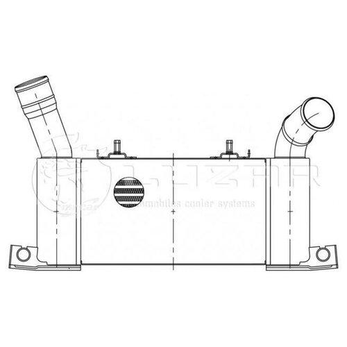 LUZAR LRIC1152 Интеркулер