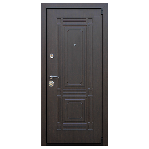 Дверь входная Викинг с зеркалом в квартиру