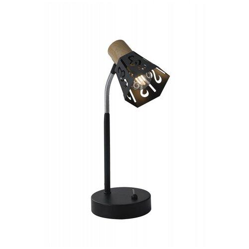 Rivoli 7005-501 Rivoli Настольная лампа Notabile T1 BK 1xE14 40W (10/120)
