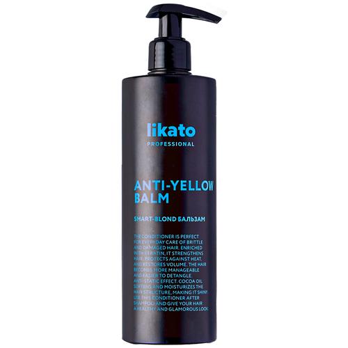 Likato Professional/ Бальзам SMART-BLOND. Для поддержания холодного оттенка блонд. С дополнительным красящим пигментом и ухаживающими маслами. 400 мл.