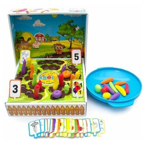 Фото - Дидактический набор Kнопа Мой урожай 87063 развивающие игрушки knopa дидактический набор мой сад