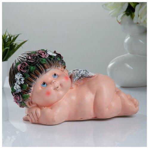 Хорошие сувениры Фигура «Ангел »Прелесть 7» лежащий на животе 15х28х17см