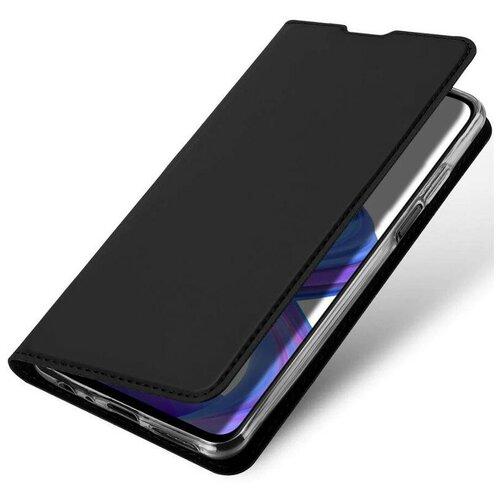Чехол книжка для Xiaomi Mi Poco M3 Pro (5G / 4G) / Redmi Note 10 5G Dux Ducis, черный
